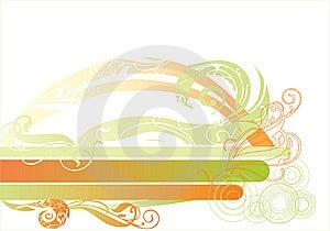 Banner Illustration, Ornate Element. Royalty Free Stock Image - Image: 8172506