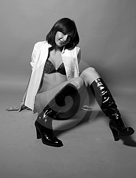Seductive Woman Stock Photos - Image: 8173753