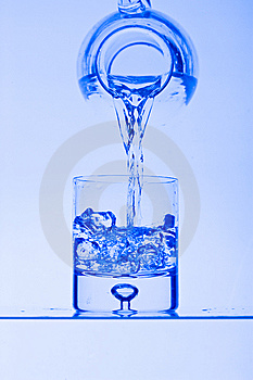 Glasses With Water Stock Photography - Image: 8175402
