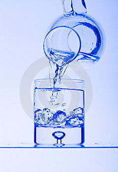Glasses With Water Stock Photos - Image: 8175493
