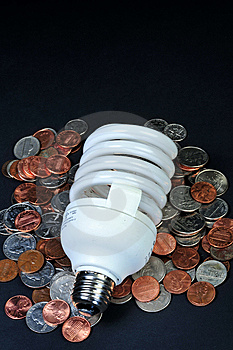 Florescent Light Bulb Stock Photo - Image: 8176030