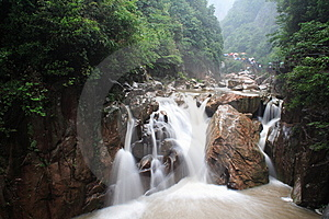 Waterfall Royalty Free Stock Photography - Image: 8176087