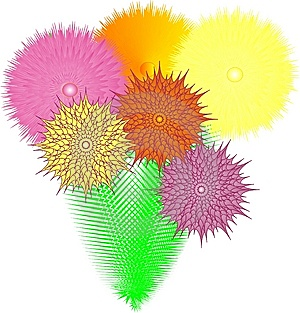 Exotic Flowers Royalty Free Stock Image - Image: 8176396