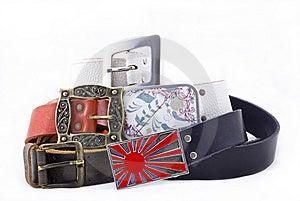 Modern Belts Stock Images - Image: 8177584