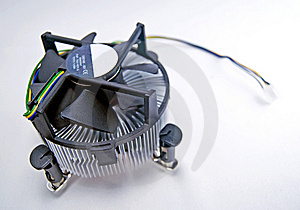 CPU Fan Royalty Free Stock Image - Image: 8177876