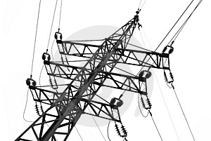 Electric Line Stock Photo - Image: 8178070