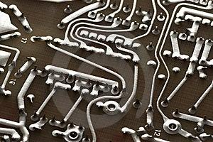 Hi-tech Circuits Stock Images - Image: 8179024
