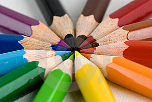 Colored Pencils Royalty Free Stock Image - Image: 8179336