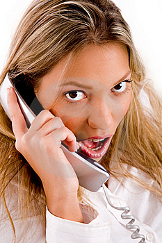 Close Up Of Manager Busy On Phone Stock Photos - Image: 8180583