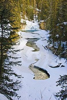 Johnston Canyon, Banff NP Royalty Free Stock Images - Image: 8180969