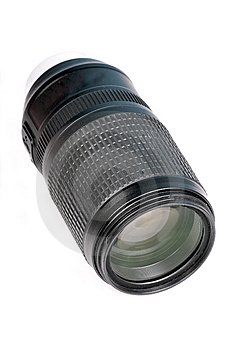 Zoom Lens Royalty Free Stock Photo - Image: 8181775