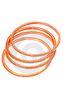 Colored Bangles Royalty Free Stock Photography - Image: 8182317