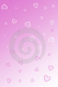 Hearts Of Different Dimensions Stock Photography - Image: 8182732
