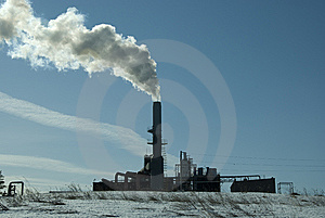 Polluting Industry Royalty Free Stock Photo - Image: 8186335