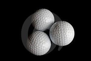 Golf Balls Royalty Free Stock Photography - Image: 8186977