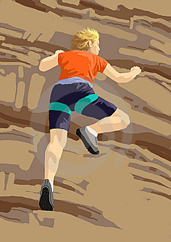 Rock Climb Sport Stock Images - Image: 8188404