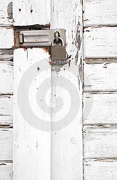 Padlocked Gate Stock Images - Image: 8189054