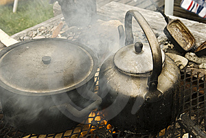 Cooking Dinner Royalty Free Stock Images - Image: 8189379