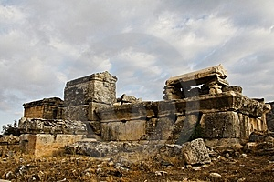 Ruins, Vault In Turkey Stock Photos - Image: 8190093