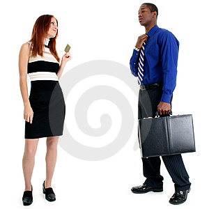 Shopping Spree Royalty Free Stock Image - Image: 8191046