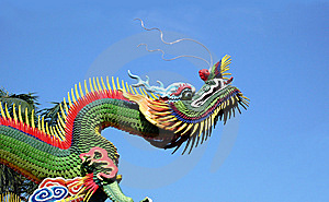 East Temple Dragon Royalty Free Stock Photography - Image: 8191497