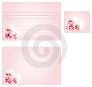 Wedding Recipe Card Royalty Free Stock Image - Image: 8191786
