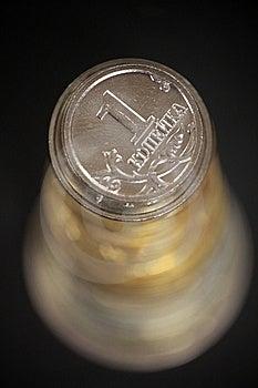 Monetary Pyramid Royalty Free Stock Photography - Image: 8193887