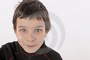 Sweat Eyes Boy Royalty Free Stock Photography - Image: 8194317