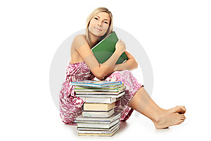 Favourite Books Royalty Free Stock Photos - Image: 8194558