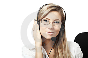 Helpdesk Stock Image
