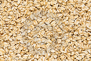 Background Of Raw Oatmeal. Stock Photos - Image: 8196273
