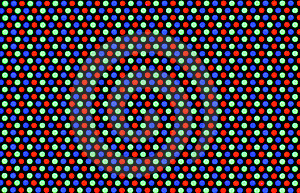 CRT Pixels, Extreme Close-up. Royalty Free Stock Photo - Image: 8196485