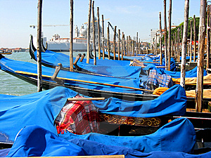 Gondolas At Venice Italy Stock Photography - Image: 8197062