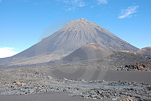 Fogo Crater Volcano - Cabo Verde - Africa Stock Photos - Image: 8198833