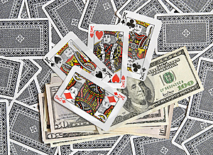 Cards, Money... Stock Photos - Image: 8199263