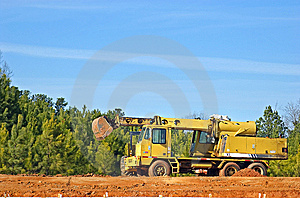 Construction Machinery Royalty Free Stock Photo - Image: 8199735
