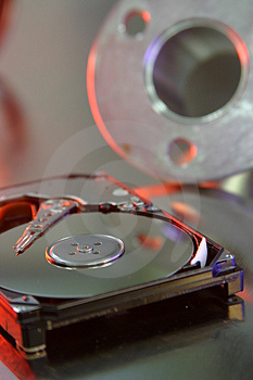 Hard Disk Drive Stock Photo - Image: 826850