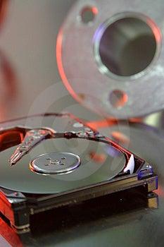 Drive Del Hard Disk Fotografia Stock - Immagine: 826850