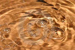 Orange Bubbles Royalty Free Stock Photography - Image: 828867
