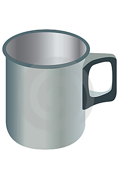 Metal Mug. Stock Photography - Image: 829332
