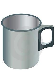 Metal Mug. Stock Photography - Image: 829332