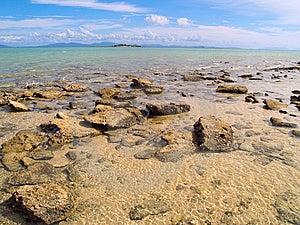 Paradise Beach In Australia Royalty Free Stock Image - Image: 8200446