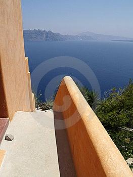 Sea View On Santorini, Greece Royalty Free Stock Photo - Image: 8202115
