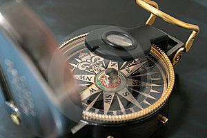 Navigating Compass Royalty Free Stock Photography - Image: 8202437
