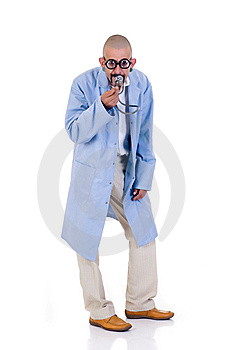 Nutty Doctor Royalty Free Stock Images - Image: 8204729