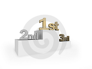 Winners Podium Royalty Free Stock Image - Image: 8204806