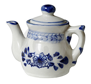 Teapot (the Dutch Style) Royalty Free Stock Image - Image: 8205106