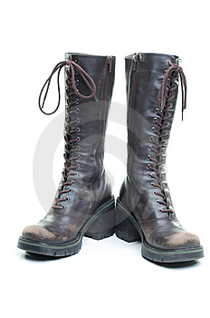 Brown Boots Stock Image - Image: 8205611