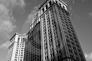 Manhattan-Büros Lizenzfreies Stockbild - Bild: 8206126
