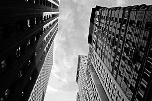Manhattan Offices Stock Images - Image: 8206404